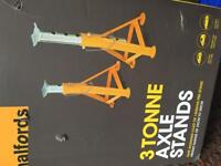 Halfords 3 Ton Axel Stands