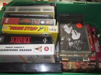 VHS collections of videos