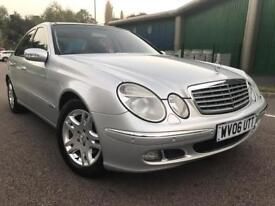 2006 MERCEDES E320 CDI 7G AUTO LADY DR OWNER LAST 4 YEARS MILEAGE 124881 HPI CLEAR