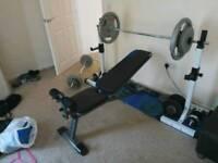 Gym, dumbells, cast iron weights, GOOD OFFER !!