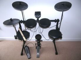 Alesis DM6 USB Electronic Drum Kit with , Pads , Cymbals , Hi-Hat , and Bass Pedal.