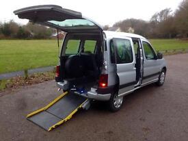 Peugeot Partner wheelchair van / car only 41,000 miles