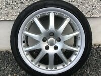 18INCH 5/108 GENUINE FORD GHIA ALLOY WHEELS WITH TYRES FIT MOST MODELS