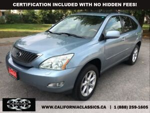 2008 Lexus RX 350 NAVI! LEATHER! DVD! - 4X4