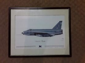 Series of prints of lighting squadrons