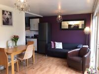 Large double room is available for a short term of 4 weeks for a single person