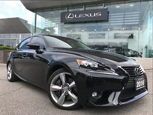 2016 Lexus IS 350 Executive Pkg AWD Navi Backup Cam Leather Sunr
