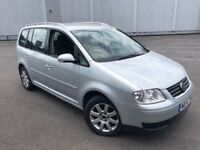2006/56 VOLKSWAGEN TOURAN 2.0L DIESEL 7 SEATER GREAT CONDITION DRIVES LIKE A DREAM WITH LONG MOT