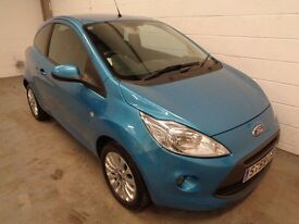 FORD KA , 2009/59 REG , ONLY 41000 MILES + HISTORY , £30 ROAD TAX , YEARS MOT , FINANCE , WARRANTY
