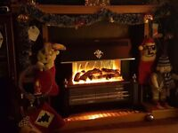 Excellent condition Fireplace an electric fire