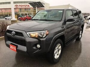 2015 Toyota 4Runner SR5 w UPGRADE PACKAGE! TOYOTA CERTIFIED!