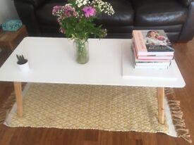 Cute white coffee table