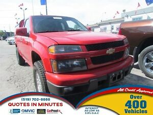 2012 Chevrolet Colorado LT w/1SD * AWD * ACCIDENT FREE