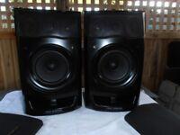 AIWA BIG Hi - Fi SPEAKERS.