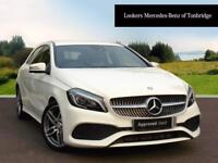 Mercedes-Benz A Class A 200 D AMG LINE PREMIUM (white) 2016-04-26
