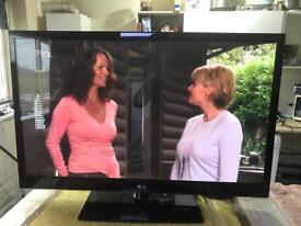 """50"""" slim full hd tv,built in freeview"""