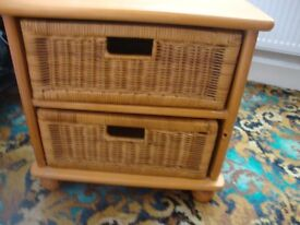 2 drawer small storage ex cond bargain
