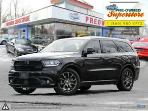 2017 Dodge Durango R/T ~~~ Red leather, DVD, Captain's chairs ~~