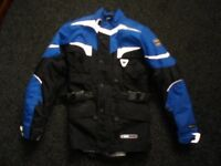 motorcycle jacket made by corner size xs armoured