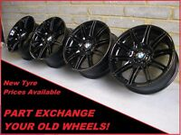 "1849 Genuine 19"" BMW MV4 225M 3 Series E90 E92 E93 1 2 4 Series Alloy Wheels"