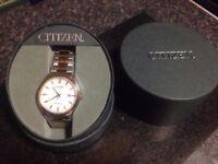 Mens Citizen eco-drive watch for sale £70