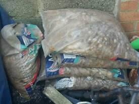 Pond gravel 5 bags