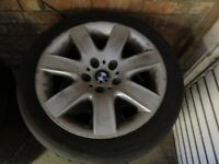 BMW star spoke 70 8j 17inch 5 stud wheels perfect for winter tyres