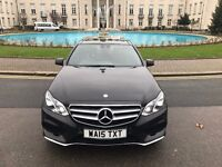 PRIVATE CHAUFFEUR SERVICES WITH MERCEDES E350 TOP OF THE RANGE