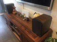 Q Acoustics 3020 Speakers, Walnut