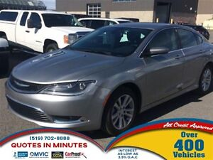 2015 Chrysler 200 LIMITED | KEYLESS | HEATED SEATS | ALLOYS