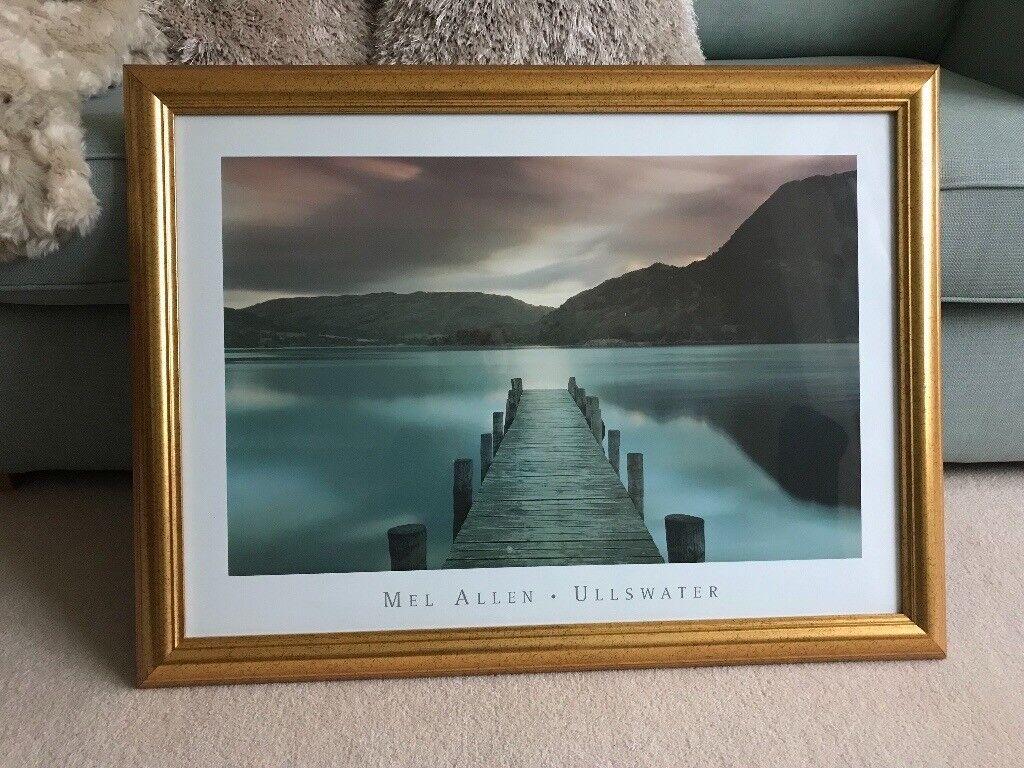Framed print of Ullswater, Lake District.   in Carlisle, Cumbria ...