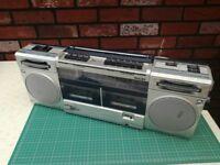 Philips Super Tandem D8334 4 Band Stereo Cassette Recorder Retro Ghettoblaster