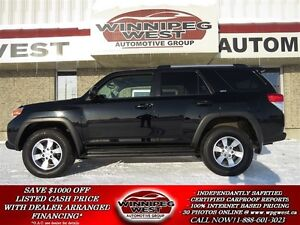 2011 Toyota 4Runner SR5 SPORT EDITION 4X4, HEATED LEATHER, SUNRO