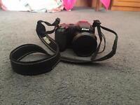 Nikon coolpix L120 bridge camera with case £500 new unused hobby