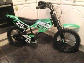 Motorbike Style Peddle Bike