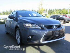 2014 Lexus CT 200h Touring Pkg - Certified