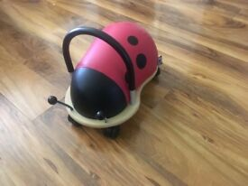 Wheelybug Ladybird Ride-On toy