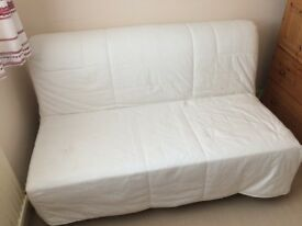 Sofa Bed - 2 seater, easily converts from sofa to bed
