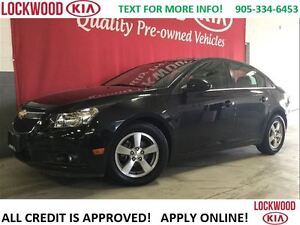 2014 Chevrolet Cruze 2LT - LEATHER, SUNROOF, HEATED SEATS