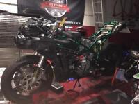 Ducati 749 just had complete rebuild custom paint job