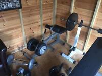 Seated calf machine gym weight