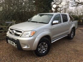 2006 (56) Toyota Hilux Invincible, Full Leather, NO VAT, Low Mileage