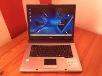 Acer TravelMate - 3Gb Ram - 80Gb HDD Storage - Windows 7