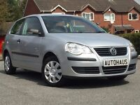 2006 Volkswagen Polo 1.2 E 3dr FSH + JUST SERVICED + FULL MOT not ford fiesta ka vauxhall corsa 206