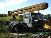 FORD CARGO/ SIMON CHERRY PICKER SPARES/ REPAIR, REDUCED TO £1000 as (CAB+ ENGINE GONE)