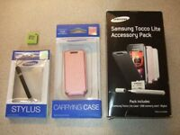 Samsung Tocco lite accessory pack