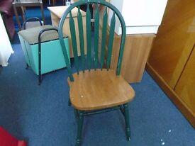 single farmhouse style chair