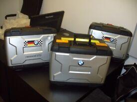BMW Vario R1200GS Motorrad Expandable Panniers + TopBox