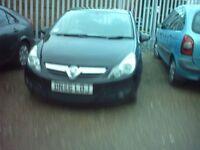 07 reg corsa 1.4 3 door black £1595