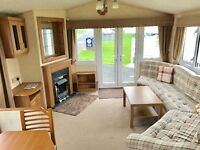 Cheap static caravan with double glazing, central heating and front opening doors for sale!